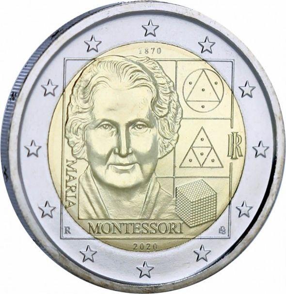 Italy 2 Euro Montessori - 2020