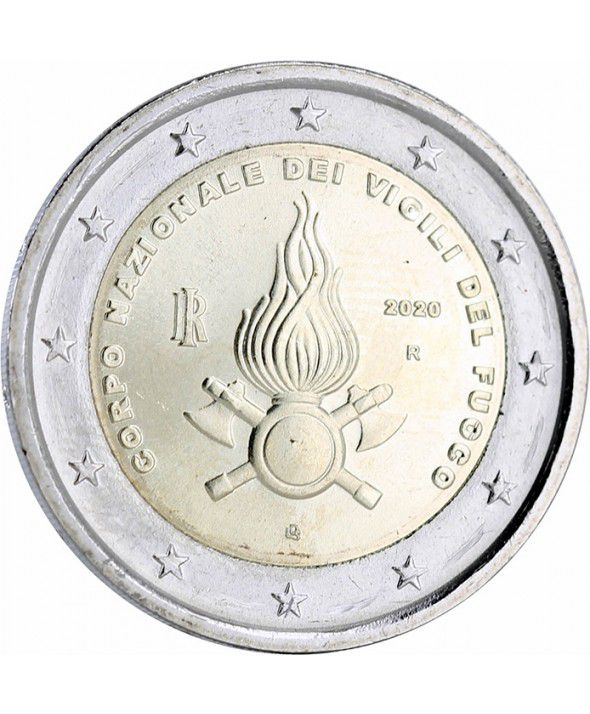 Italy 2 Euro National Fire Corps - 2020