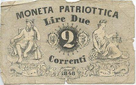 Italy 2 Lire Neptune, Justice