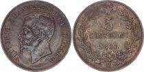 Italy 5 Centesimi Victor Emmanuel II - 1861