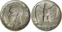 Italy 5 Lire Vittorio Emanuele III - 1927 R Roma