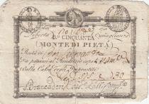 Italy 50 Bajiocchi Monte Di Pieta - 1798 - S.548