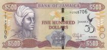 Jamaica 500 Dollars 50th Anniversary of Independence - 2012