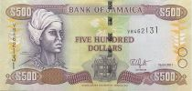 Jamaica 500 Dollars Nanny of the Maroons - Port Royal