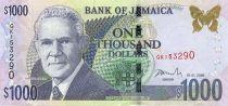 Jamaika 1000 Dollars Michael Manley - Jamaica House