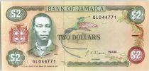 Jamaika 2 Dollars Paul Bogle - Students - 1992