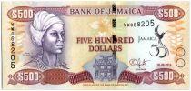 Jamaika 500 Dollars 50th Anniversary of Independence