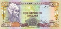 Jamaika 500 Dollars Nanny of the Maroons - Port Royal