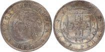 Jamaïque 1/2 Penny Victoria - Armoiries - 1887