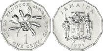 Jamaïque 1 Cent Alimentation - 1991