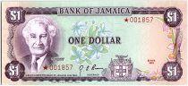 Jamaïque 1 Dollar, Sir Alexander Bustamante - 1978