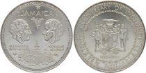 Jamaïque 10 Dollars - 10 ans de l\'Indépendance 1962-1972 - Argent - KM.60