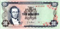 Jamaïque 10 Dollars, George William Gordon - 1978