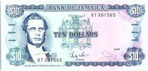 Jamaïque 10 Dollars, George William Gordon - 1987