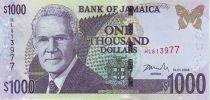 Jamaïque 1000 Dollars Michael Manley - Maison de la Jamaîque - 2006