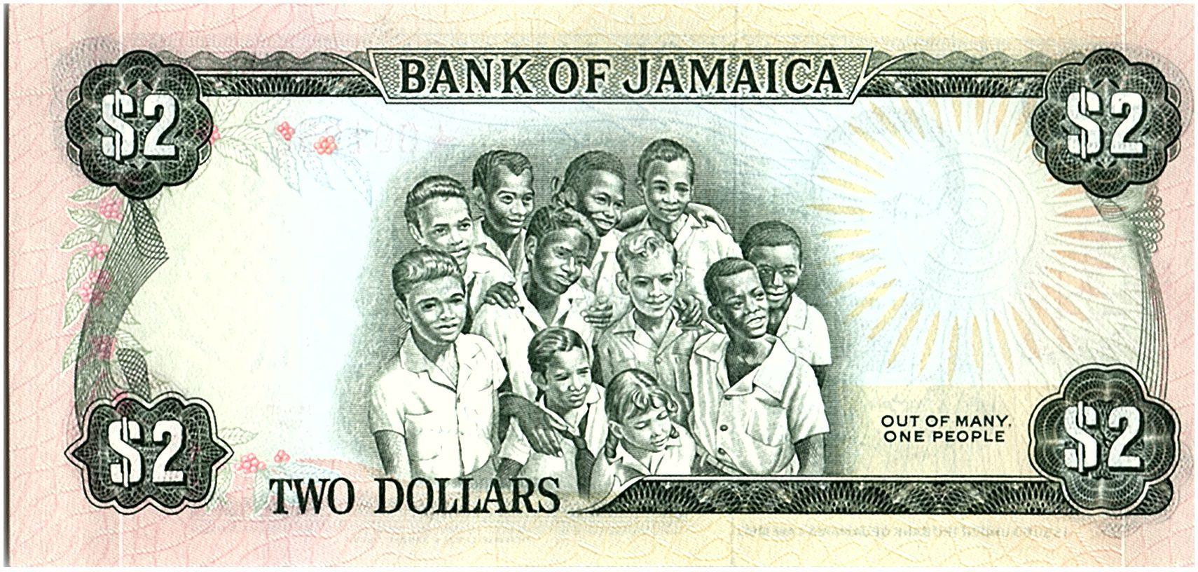 Jamaïque 2 Dollars, Paul Bogle - 1978