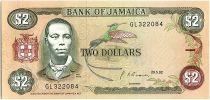 Jamaïque 2 Dollars, Paul Bogle - Groupe d\'enfants -  1992
