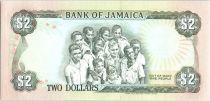 Jamaïque 2 Dollars Paul Bogle - Etudiants - 1992