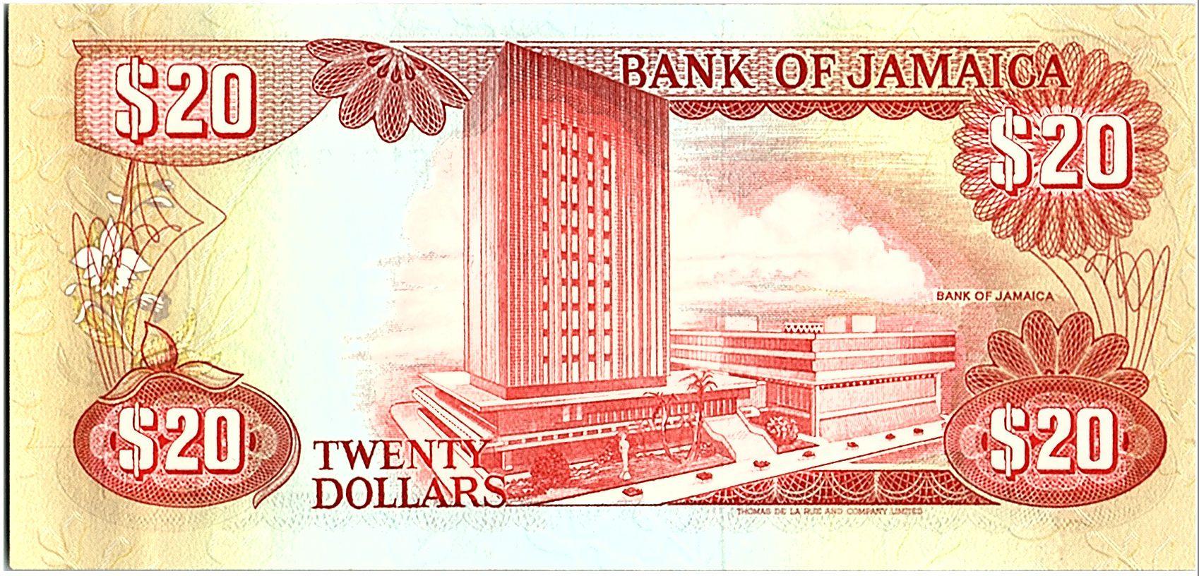 Jamaïque 200 Dollars, Noel Nethersolle - Banque - 1985