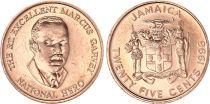 Jamaïque 25 Cents - Marcus Garvey - 1996