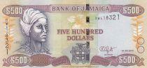 Jamaïque 500 Dollars - Nanny of the Marrons - Port Royal 2017