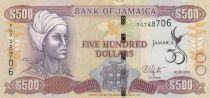Jamaïque 500 Dollars 50 e Anniversaire de l\'indépendance - 2012
