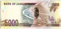 Jamaïque 5000 Dollars Hugh Hearer - Autoroute