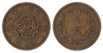 Japan 1/2 Sen, Flower - Dragon - Varied Years From 1873 To 1892