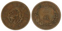 Japan 1 Sen, Flower - Dragon - Varied Years from 1873 to 1892