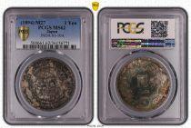 Japan 1 Yen Dragon  - 1894 M27- PCGS MS 62