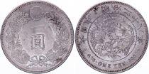Japan 1 Yen Dragon  - 1895 Mutsuhito Year 28 - AU