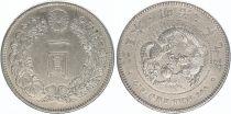 Japan 1 Yen Dragon  - 1896 Meiji 29