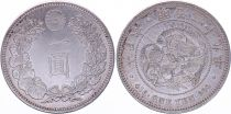 Japan 1 Yen Dragon  - 1896 Mutsuhito Year 29 - AU