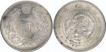 Japan 1 Yen Dragon  - 1897 Meiji 30