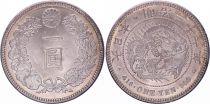 Japan 1 Yen Dragon  - 1903 Mutsuhito Year 36 - XF+