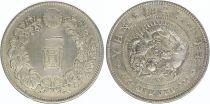 Japan 1 Yen Dragon  - 1904 Meiji 37
