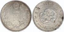 Japan 1 Yen Dragon  - 1905 Meiji 38