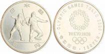Japan 100 Yen, Fencing  - Olympics Games TOKYO 2020 - AU