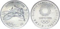 Japan 100 Yen, Surf  - Olympics Games TOKYO 2020 - AU