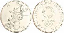 Japan 100 Yen, Wheelchair Archery - Olympics Games TOKYO 2020 - AU