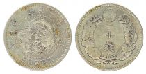 Japan 20 Sen, Flower - Dragon - Various Years 1901 to 1905