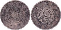 Japan 20 Sen Dragon - 1870 Mutsuhito Year 3