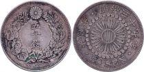 Japan 50 Sen - 1906 Mutsuhito Year 39