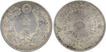 Japan 50 Sen, Fleur - 1917 ( Yr 6)