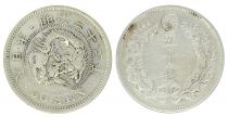 Japan 50 Sen, Flower- Dragon - 1899 YR. 32- Second ex.
