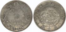 Japan 50 Sen Dragon - 1870 Meiji 3 - 2 em ex