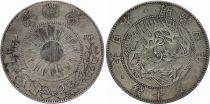 Japan 50 Sen Dragon - 1871 Meiji 4 - 1 er ex