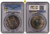 Japón 1 Yen Dragon  - 1894 M27- PCGS MS 62