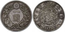 Japon 1 Yen Dragon  - 1895 M13
