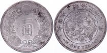 Japon 1 Yen Dragon  - 1895 Meiji An 28 - SUP+